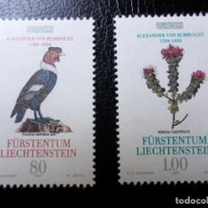 Sellos: *LIECHTENSTEIN,1994, EUROPA, YVERT 1020/21. Lote 288076828