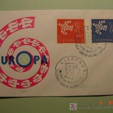 Sellos: 1953 LUXEMBURGO 1961 TEMA EUROPA SOBRE DIA EMISION SPD FDC MAS EN MI TIENDA COSAS&CURIOSAS. Lote 3551410