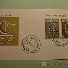 Sellos: 1954 LUXEMBURGO 1966 TEMA EUROPA SOBRE DIA EMISION SPD FDC MAS EN MI TIENDA COSAS&CURIOSAS. Lote 5453815