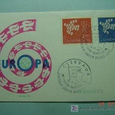Sellos: 9397 LUXEMBURGO LUXEMBOURG 1961 TEMA EUROPA FDC SPD SOBRE PRIMER DIA EMISION MAS EN COSAS&CURIOSAS. Lote 5411326