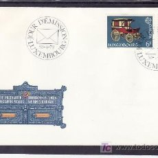 Sellos: LUXEMBURGO 937/8 PRIMER DIA, TEMA EUROPA 1979, HISTORIA DEL SERVICIO DE CORREOS, TELEFONO, . Lote 11584815