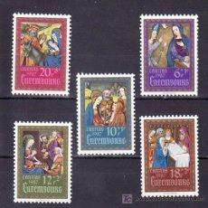Sellos: LUXEMBURGO 1135/9 SIN CHARNELA, ESTAMPAS, RELIGION, NAVIDAD, . Lote 11889360