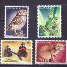 Sellos: LUXEMBURGO 1083/6 SIN CHARNELA, FAUNA, ANIMALES EN PELIGRO DE EXTINCION, . Lote 12019326