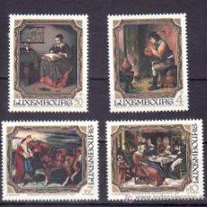 Sellos: LUXEMBURGO 1050/3 SIN CHARNELA, PINTURAS DEL MUSEO JEAN-PIERRE PESCATORE, . Lote 7992140
