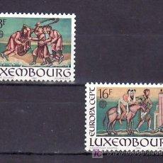 Sellos: LUXEMBURGO 1024/5 SIN CHARNELA, TEMA EUROPA 1983, GRANDES OBRAS DE LA HUMANIDAD, . Lote 11244091