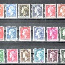 Sellos: LUXEMBURGO 414/24,413A/B, 415A, 418B, 421A/C, (18 VALORES) CON CHARNELA, MONARQUIA, . Lote 11678528