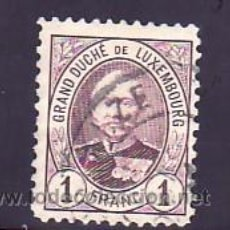 Sellos: LUXEMBURGO 66 USADA, MONARQUIA, GRAN DUQUE ADOLPHE I, . Lote 8013376