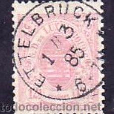 Sellos: LUXEMBURGO 43 USADA, MATASELLO PRECIOSO, DIENTES ROMO,. Lote 10799611