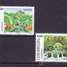 Sellos: LUXEMBURGO 1590/1 SIN CHARNELA, TEMA EUROPA 2004, VACACIONES,. Lote 10545330