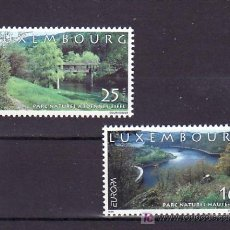 Sellos: LUXEMBURGO 1422/3 SIN CHARNELA, TEMA EUROPA 1999, RESERVAS Y PARQUES NACIONALES, . Lote 10545386