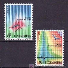 Sellos: LUXEMBURGO 1318/9 SIN CHARNELA, TEMA EUROPA 1995, PAZ Y LIBERTAD, . Lote 10545438