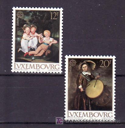 LUXEMBURGO 1169/70 SIN CHARNELA, TEMA EUROPA 1989, JUEGOS INFANTILES, MUSICA, (Sellos - Extranjero - Europa - Luxemburgo)