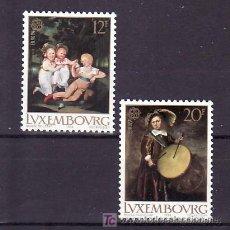 Sellos: LUXEMBURGO 1169/70 SIN CHARNELA, TEMA EUROPA 1989, JUEGOS INFANTILES, MUSICA,. Lote 10545530