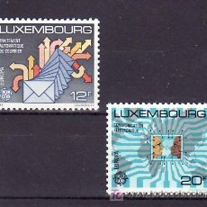 Sellos: LUXEMBURGO 1149/50 SIN CHARNELA, TEMA EUROPA 1988, TRANSPORTES Y COMUNICACIONES, . Lote 11441650