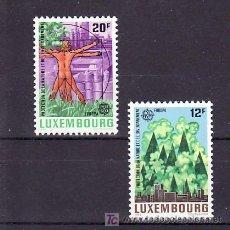 Sellos: LUXEMBURGO 1101/2 SIN CHARNELA, TEMA EUROPA 1986, PROTECCION NATURALEZA Y MEDIO AMBIENTE . Lote 11427899