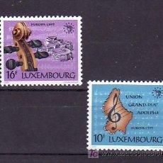 Sellos: LUXEMBURGO 1075/6 SIN CHARNELA, TEMA EUROPA 1985, AÑO EUROPEO DE LA MUSICA, . Lote 11483211
