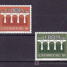 Sellos: LUXEMBURGO 1048/9 SIN CHARNELA, TEMA EUROPA 1984, 25º ANIVERSARIO CONFERENCIA EUROPEA, . Lote 11614401