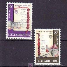 Sellos: LUXEMBURGO 1002/3 SIN CHARNELA, TEMA EUROPA 1982, HECHOS HISTORICOS, . Lote 10545730