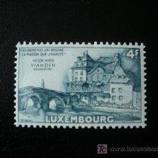 Sellos: LUXEMBURGO 1953 IVERT 472 *** 150º ANIVERSARIO NACIMIENTO DE VICTOR HUGO - MONUMENTOS. Lote 13113749
