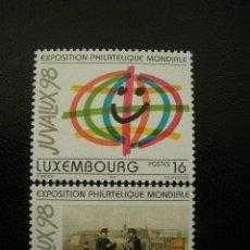 Sellos: LUXEMBURGO 1997 IVERT 1373/74 *** EXPOSICIÓN FILATELICA INTERNACIONAL - JUVALUX-98. Lote 13193880