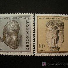 Sellos: LUXEMBURGO 1998 IVERT 1407/8 *** MUSEO DE HISTORIA DE LUXEMBURGO - ESCULTURA. Lote 13297964