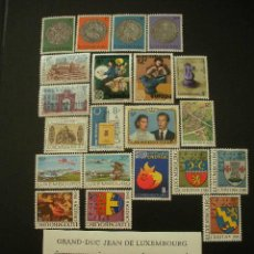 Sellos: LUXEMBURGO 1981 IVERT 972/995 *** AÑO COMPLETO. Lote 20217617