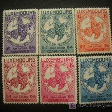Sellos: LUXEMBURGO 1934 IVERT 252/7 *** PRO OBRAS SOCIALES . Lote 20405447