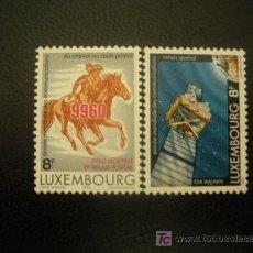 Sellos: LUXEMBURGO 1983 IVERT 1028/9 *** AÑO MUNDIAL DE LAS COMUNICACIONES. Lote 20935076