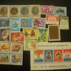 Sellos: LUXEMBURGO 1985 IVERT 1067/1092 *** AÑO COMPLETO. Lote 20935289