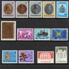 Sellos: LUXEMBURGO AÑO 1985 YV 1067/92*** + HB 14*** COMPLETO. Lote 27371524