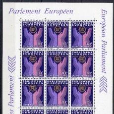 Sellos: LUXEMBURGO AÑO 1984 YV 1047*** HB EN MP - ELECCIONES AL PARLAMENTO EUROPEO. Lote 27371526