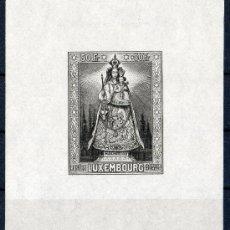 Sellos: LUXEMBURGO AÑO 1945 YV HB 4*** VIRGEN DE LUXEMBURGO - RELIGIÓN - ESCULTURA - ARTE. Lote 21918588