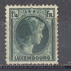 Sellos: LUXEMBURGO,1930-31-YVERT TELLIER 224- GRAN DUQUESA CHARLOTTE. Lote 25943656