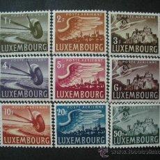 Sellos: LUXEMBURGO 1946 AEREO IVERT 7/15 * PAISAJES . Lote 26573463