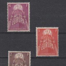 Sellos: LUXEMBURGO 531/3 SIN CHARNELA, TEMA EUROPA,. Lote 27270707