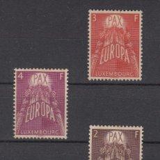 Sellos: LUXEMBURGO 531/3 CON CHARNELA, TEMA EUROPA, . Lote 27341951