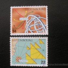 Sellos: LUXEMBURGO 1994 IVERT 1290/1 *** EUROPA - LOS DESCUBRIMIENTOS. Lote 27790425