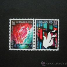 Sellos: LUXEMBURGO 1998 IVERT 1401/2 *** EUROPA - FIESTAS NACIONALES. Lote 36686663