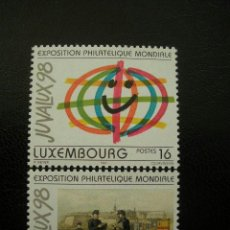 Sellos: LUXEMBURGO 1997 IVERT 1373/74 *** EXPOSICIÓN FILATELICA INTERNACIONAL - JUVALUX-98. Lote 36686681