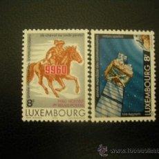 Sellos: LUXEMBURGO 1983 IVERT 1028/9 *** AÑO MUNDIAL DE LAS COMUNICACIONES . Lote 36687024