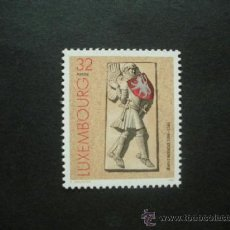 Sellos: LUXEMBURGO 1996 IVERT 1359 *** 700º ANIVERSARIO NACIMIENTO JUAN EL CIEGO REY DE BOHEMIA. Lote 36805046