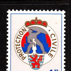 Sellos: LUXEMBURGO 860** - AÑO 1975 - PROTECCION CIVIL. Lote 39443051