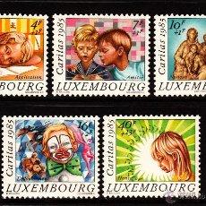 Sellos: LUXEMBURGO 1088/92** - AÑO 1985 - CARITAS - NAVIDAD . Lote 39580769
