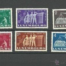 Sellos: LUXEMBURGO. IVERT 443/48*. VALOR 140 EUROS. Lote 44497110