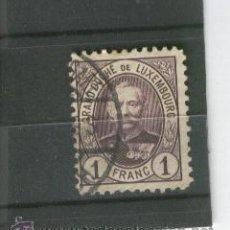 Sellos: LUXEMBURGO SELLOS ANTIGUOS ALTO VALOR NUMERO 66 AÑO 1891 1 FRANCO . Lote 44669267