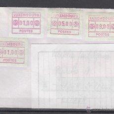 Sellos: LUXEMBURGO ETIQUETA 2(4) EN SOBRE CIRCULADO DESDE PETANGE (LUXEMBURGO). Lote 44807041