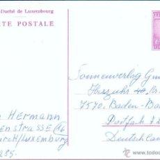 Sellos: LUXEMBURGO .- ENTERO POSTAL 6 F.. Lote 44905145