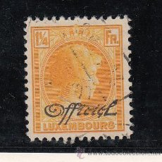 Sellos: LUXEMBURGO OFICIAL 192 USADA, . Lote 45480439
