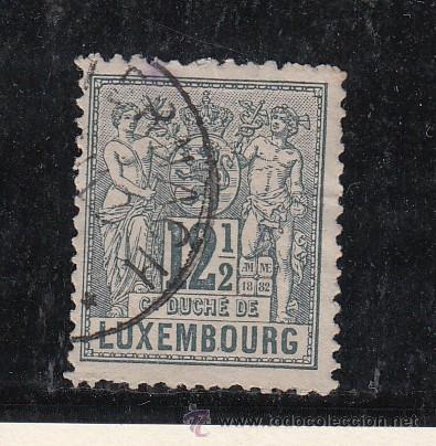 LUXEMBURGO 52 USADA, (Sellos - Extranjero - Europa - Luxemburgo)