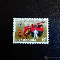 Timbres: LUXEMBURGO.1018 CUERPO DE BOMBEROS. 1983. SELLOS USADOS Y NUMERACIÓN YVERT.. Lote 47263188